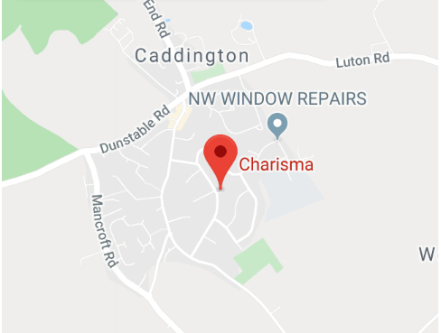 Charisma Caddington Location